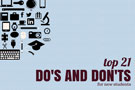 Do's and Don'ts for Students by Students