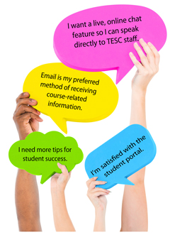 Hear What TESC Students Think